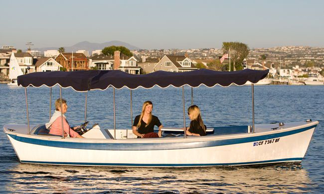 Cruise The Harbor In A Duffy With Friends On Picnic Great Way To See All Sights Comfortable Seating Surrey Top Provides Shade
